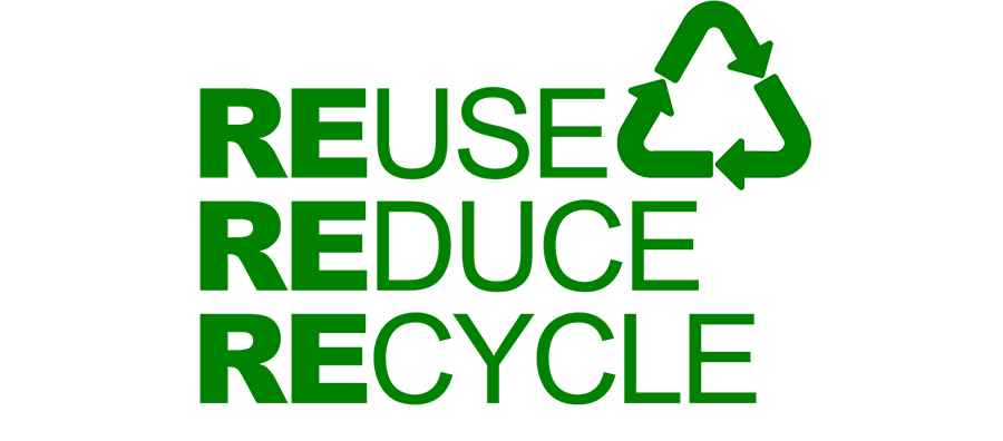 Reuse Reduce Recycle Household Wastes