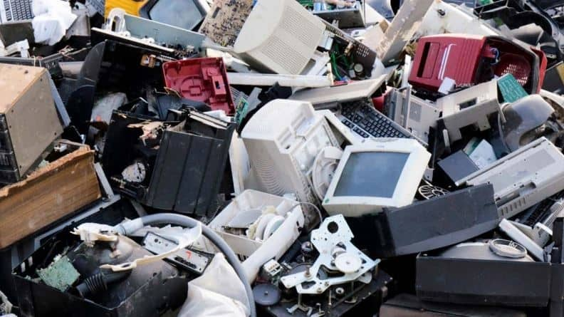 Electronic Commercial Wastes