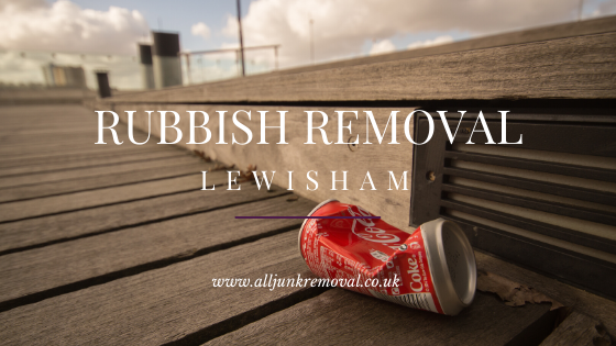 Rubbish Removal Lewisham - Waste Clearance Service