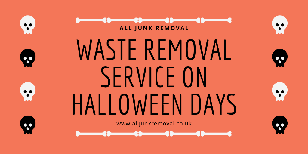 Waste Removal Service On Halloween Days