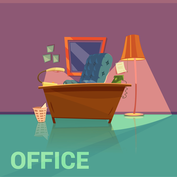 Wastes generated in office
